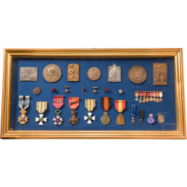 Collection of orders and medals, mainly Belgium, 1st half 20th century