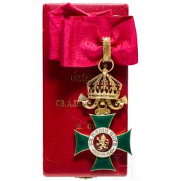 Kingdom of Bulgaria - Order of St. Alexander 3rd model from 1918 - III. class, Commander's Cross