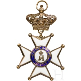 Order of Military and Civilian Merit of Adolph of Nassau, Commander's Cross