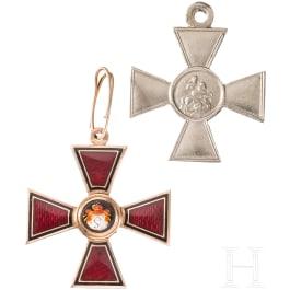 Order of St. Vladimir, cross 4th class, around 1870