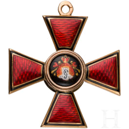 St. Vladimir Order, cross 4th Class, circa 1900