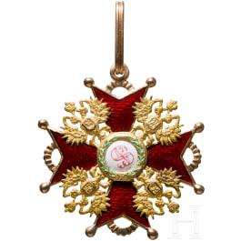 Order of St. Stanislaus, cross 2nd class, around 1900