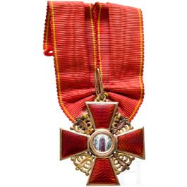 Order of St. Anne - 3rd class cross, circa 1910