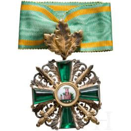 Order of the Zähringer Lion - Knight's Cross 2nd class with oak leaves and swords