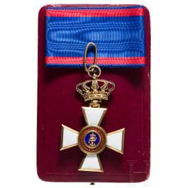 Order of Merit of Duke Peter Friedrich Ludwig, Commander's Cross, awarded 1839 to 1918