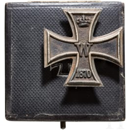 Iron Cross 1st class 1870 in a case (collector's copy)