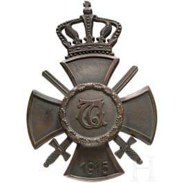 Wilhelmskreuz with crown and swords