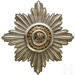 High Order of the Black Eagle - breast star