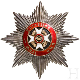 Order of the Wurttemberg crown - star to the Grand Cross