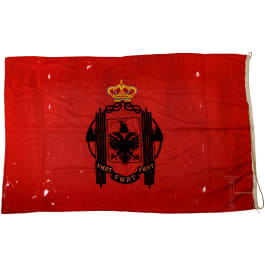Flag of the Kingdom of Albania in the form between 1939 and 1943