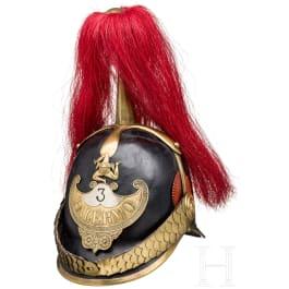 "Helmet for members of the ""Guardia Civica Palermo"", ca. 1848"