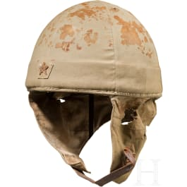A paratrooper helmet, 2nd World War