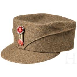 """Cap for members of the Norwegian """"Arbeids-tjensten"""", about 1942"""
