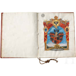 Emperor Joseph II - Diploma of nobility from 1788