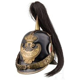 """Helmet of the """"Guardia Civica"""" of Leopold II, Grand Duke of Tuscany, ca. 1848"""