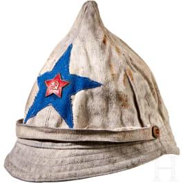 A White Budenovka Cap