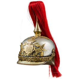 Helmet for horsemen of the guard during the reign of Franco, 20th century