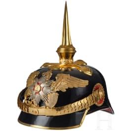 A Baden General Spiked Helmet