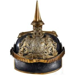 A Bavarian Officer Infantry Helmet