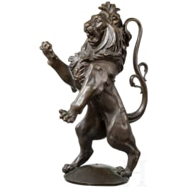 Hessian lion of bronze