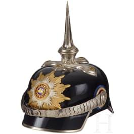 A Mecklenburg General Spiked Helmet
