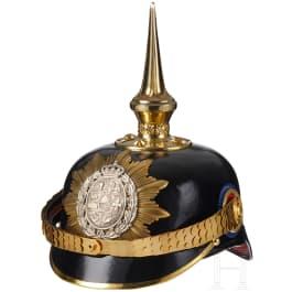 A 89th Mecklenburg Infantry Officer Spiked Helmet