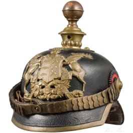 Helmet for artillery troopers and awards