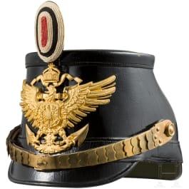 Shako for nco´s in the sea battalion, c. 1910