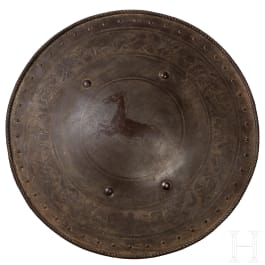 Rundschild, neuzeitliche Sammleranfertigung im Stil der Renaissance