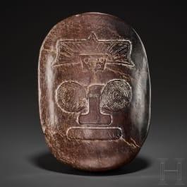 Szepter-Handhabe, Nephrit, China, Liangzhu-Kultur, Neolithikum, 3300 - 2200 v. Chr.