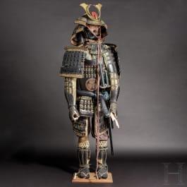A Japanese tosei gusoku, some parts mid-Edo/Meiji period