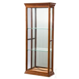 A small neoclassical display cabinet with a secret drawer, probably Berlin, circa 1825