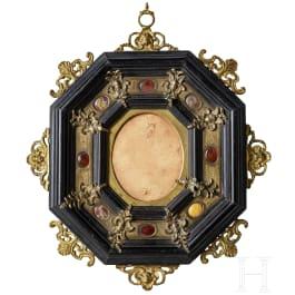 Kleiner Rahmen im Stil der Renaissance, Italien, 19. Jhdt.