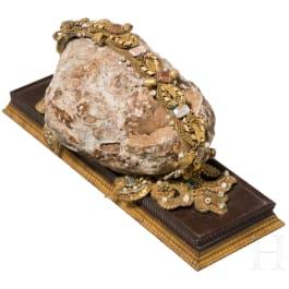 A German Bezoar stone, 19th century