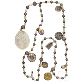 A southern German rosary, 19th century