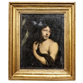 Bildnis eines jungen Mannes, Italien oder Frankreich, Frühes 17. Jhdt.