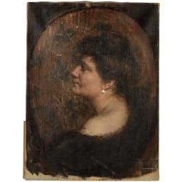 A lady's portrait, Munich or Vienna, ca. 1910