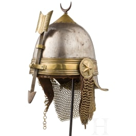A rare helmet of the Khedive Life Guards, 2nd halt of 19th century