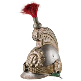 A helmet M 1842 for troopers of cuirassiers/dragoons