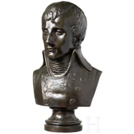 Napoleon Bonaparte - a bronze bust as First Consul