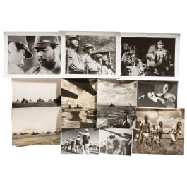 An extensive group of PK-photos from the Far Eastern theater of war in WW II
