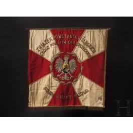 Fahne einer Veteranenorganisation der Schlesischen Aufständischen, 1920er Jahre