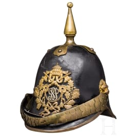 An EM helmet of the papal Swiss Guard, 1878 - 1903