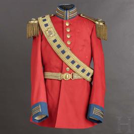 """Uniform für einen Angehörigen der """"Guardia Nobile"""" aus dem Pontifikat Pius X. (1903 - 1914)"""