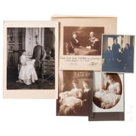 Prince Alfons and Princess Louise of Bavaria - dedication photo 1916