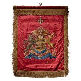 A standard of the Württemberg Dragoon Reserve Regiment
