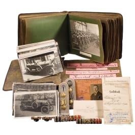 Hauptmann Hans Heid – Head of the wartime repair garage in Liege