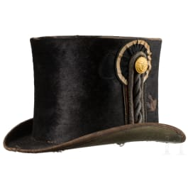 A hat for deck officers of the Royal Prussian Navy, circa 1850