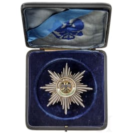 Prussia - High Order of the Black Eagle, a breast star, after 1918