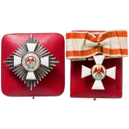 Order of the Red Eagle - a breast star and neck decoration to the 2nd class